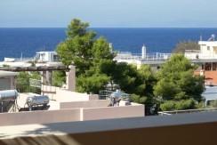 Квартира в Сарониде с видом на море