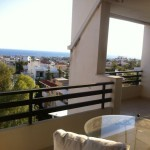 Apartment in Voula with sea view. Athens.