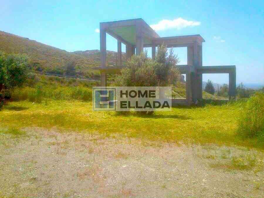 Πώληση - σπίτι 210 m², και οικόπεδο 4000 m² Αττικής (Κερατέα)