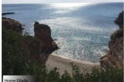 Частный дом с видом на море в пригороде Афин