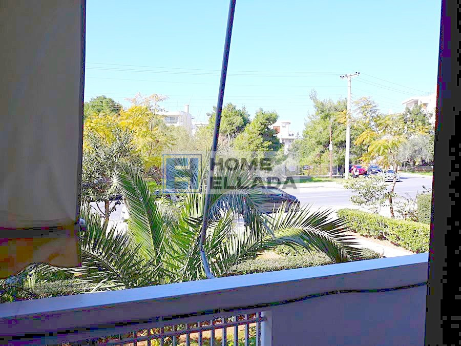 Apartment 90 sq. m. in the center of Glyfada