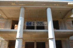 Корби в Греции участок купить с недостроенным домом