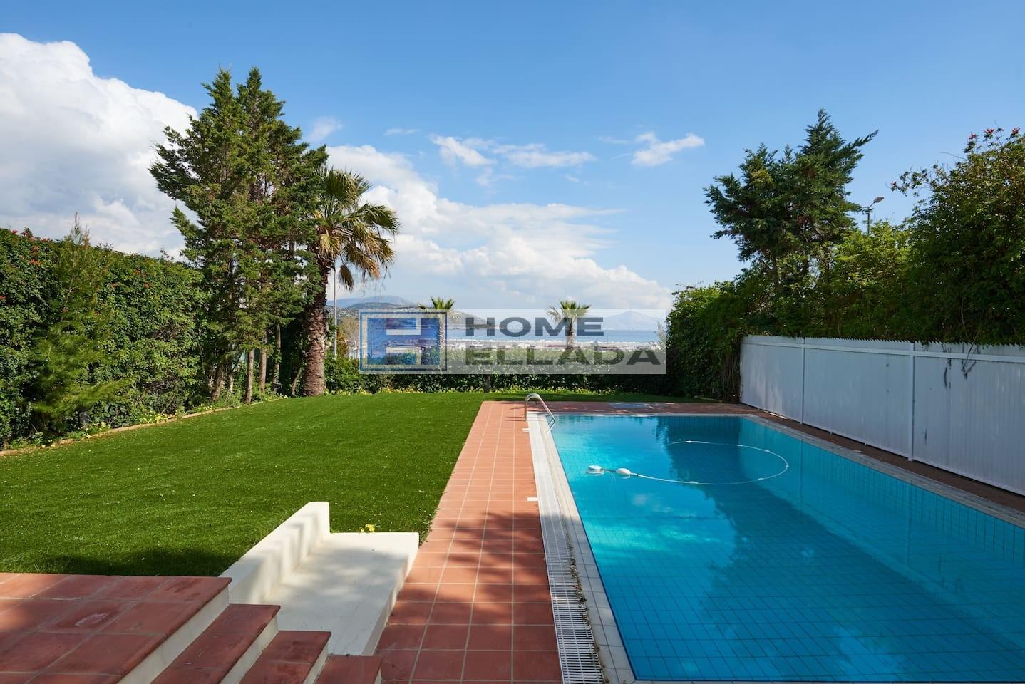 Аренда в Греции вилла с басейном у моря 320 м²