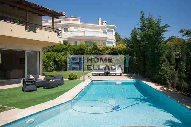 Ενοικίαση - βίλα δίπλα στη θάλασσα 400 τ.μ., σπίτι με πισίνα Αθήνα - Βάρη