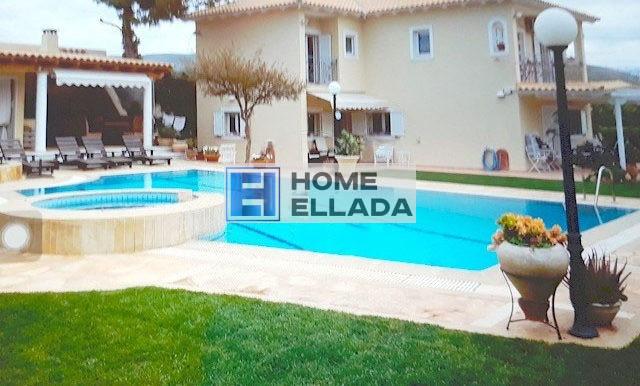 Аренда вилла с бассейном в Греции 260 м² Лагониси - Афины
