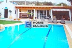 Ενοικίαση βίλας με πισίνα στην Ελλάδα Λαγονήσι 260 τ.μ.