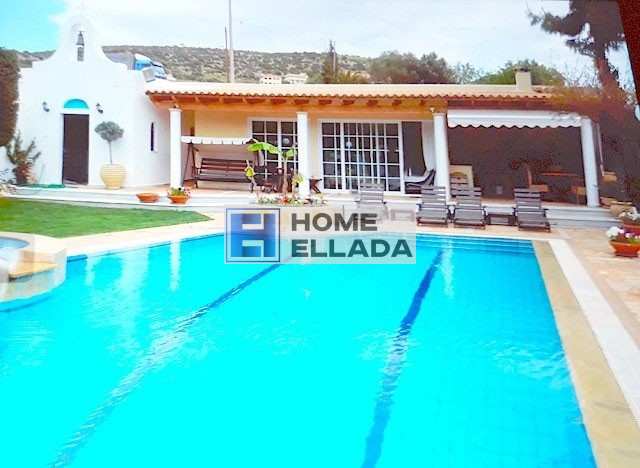 Rent villa with pool in Greece 260 m² Lagonisi - Athens