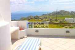 House for rent in Mykonos with sea view