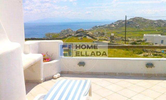 Аренда дома на Миконос с видом на море