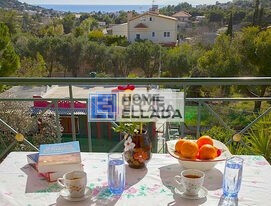 Real estate in Greece by the sea of Lagonisi (Attica) house 420 m²