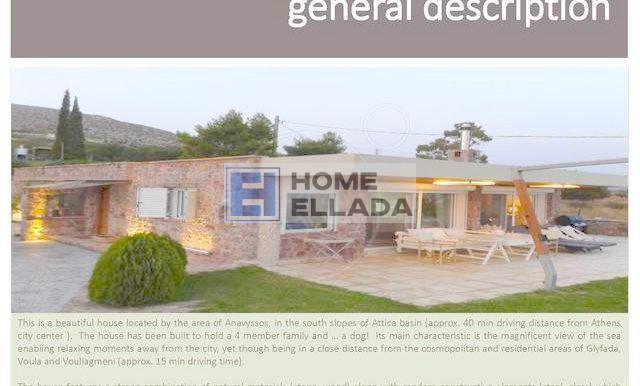 Недвижимость в Греции с бассейном Анависсос (Аттика)