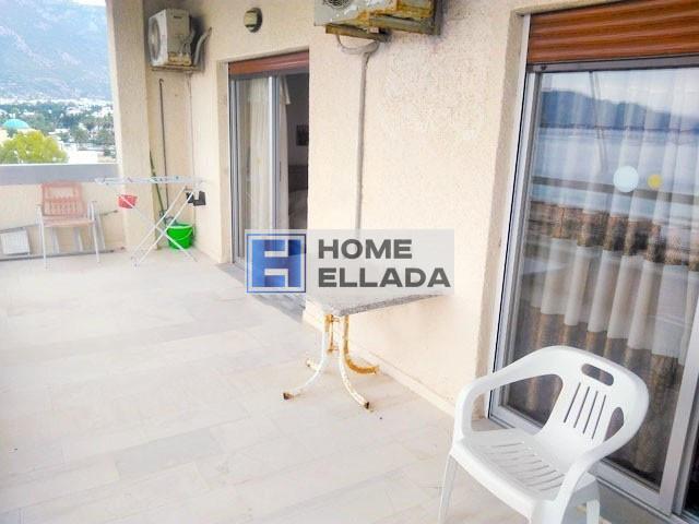 Квартира в Греции с видом на море - Лутраки
