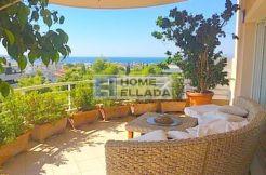 Квартира с видом на море - аренда в Афинах-Вула