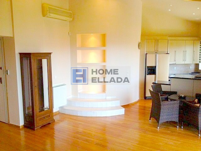 Apartment with sea view - rental in Athens-Voula