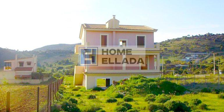 Недостроенный дом в Лагониси - Аттика 323 кв м