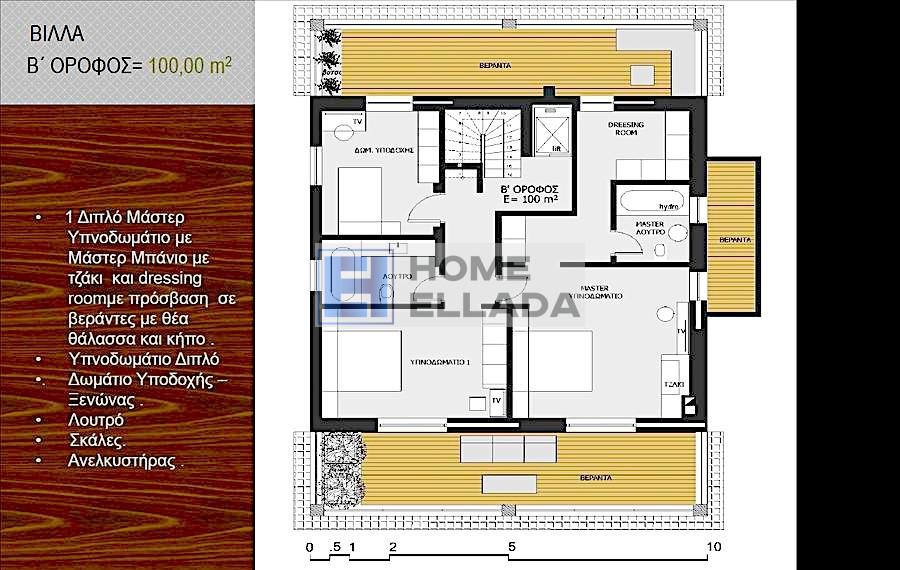 Ημιτελής οικία στο Λαγονήσι - Αττική 323 τ.μ.