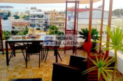 Athens Penthouse Rental - Voula with Sea View