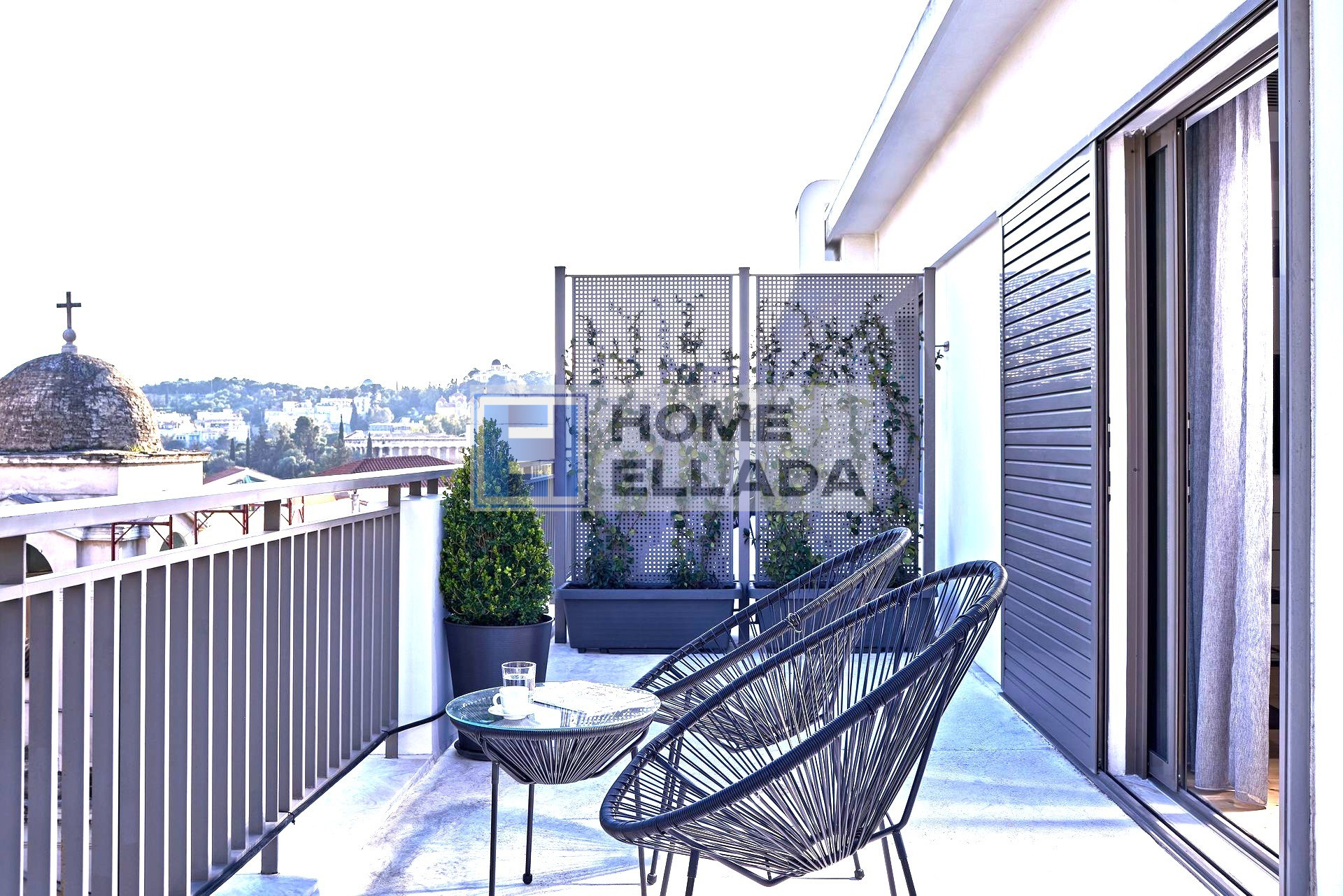 Apartments in the historical center of Athens
