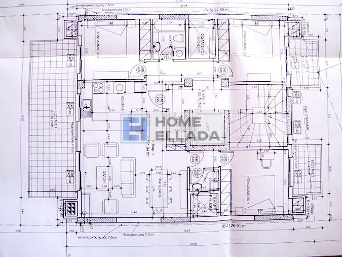 New apartment Ano Nea Smyrni - Athens 102 sqm