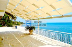Seafront villa for sale 350 m² with private beach and pool