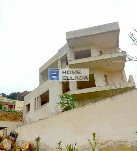 Sale, unfinished house by the sea 300 m² Lagonisi-Attica