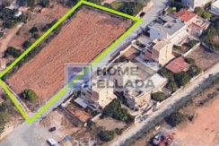 Πώληση - οικόπεδο 2150 τ.μ. δίπλα στη θάλασσα στην Αθήνα (Βάρη - Βάρκιζα)
