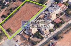 Sale - land plot 2150 m² by the sea in Athens (Vari - Varkiza)